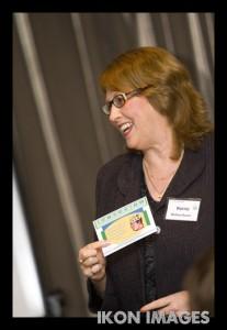 Fun during Kerrie Mullins-Gunst presentations